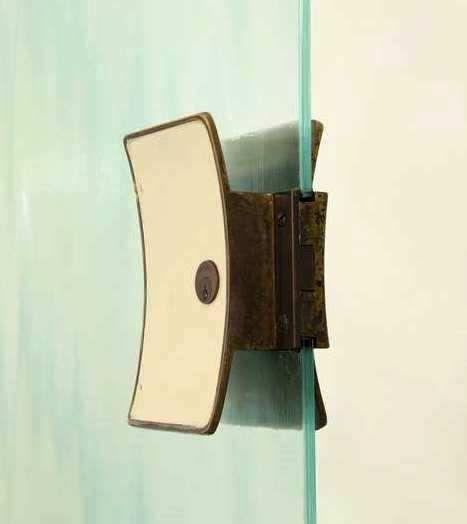 Hardware · Italian 1950s Glass Door ...