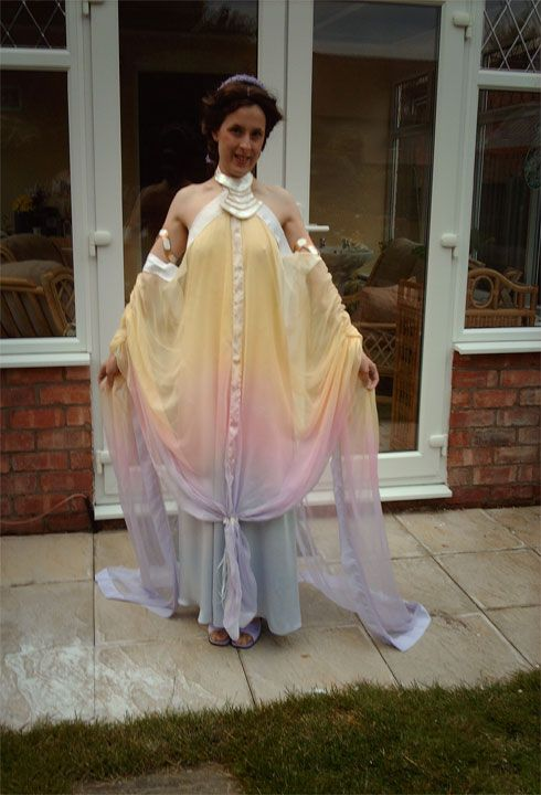 The Padawan\'s Guide Padme\'s Pastel Lake Gown | Cosplay Costumes ...