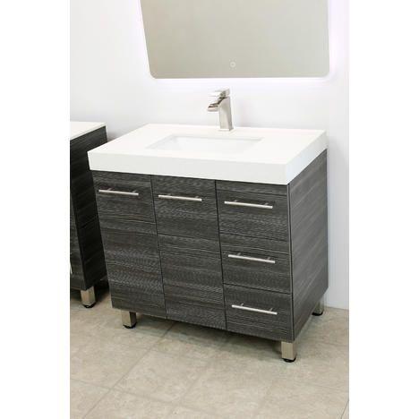 """Bathroom Vanity Bowls windbay 36"""" free standing bathroom vanity sink set. vanities sink"""