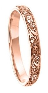 Rose Gold Celtic Wedding Rings Handmade In Ireland Celtic Wedding Rings Irish Wedding Rings Wedding Rings For Women