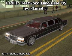 Cadillac Fleetwood Limousine '85