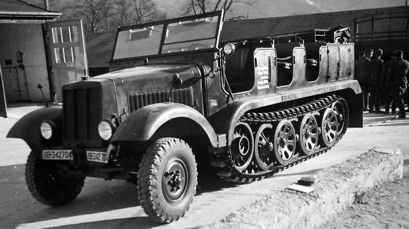 1000+ images about SdKfz 6 hal...