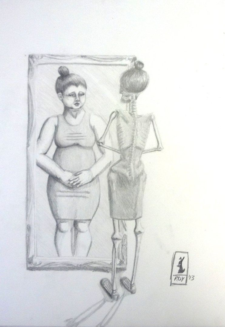 Pictures Of Eating Disorder Drawing Kidskunst Info