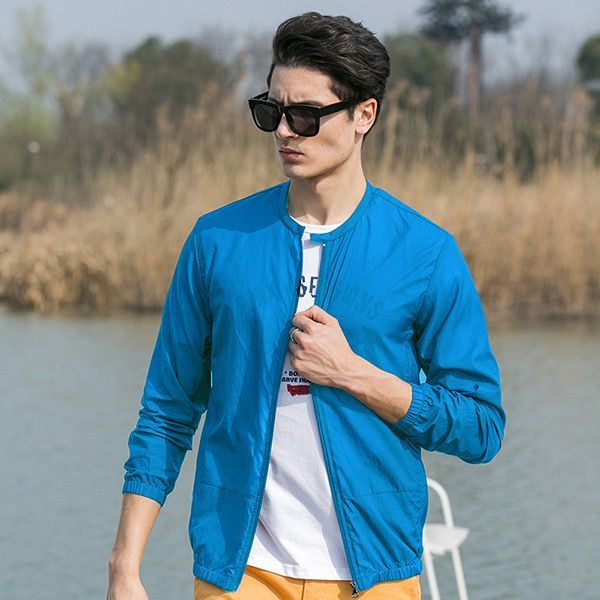 5497018a5d1b Pioneer Camp Summer sun protection clothing men jacket ultra light  breathable waterproof Jacket men s Sunscreen 677052