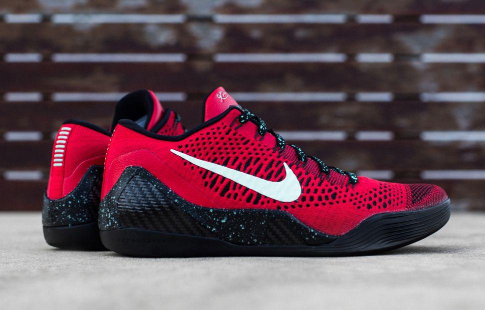 b00383e19dca Nike Kobe 9 Elite Low Uni Red   Black (Preview)