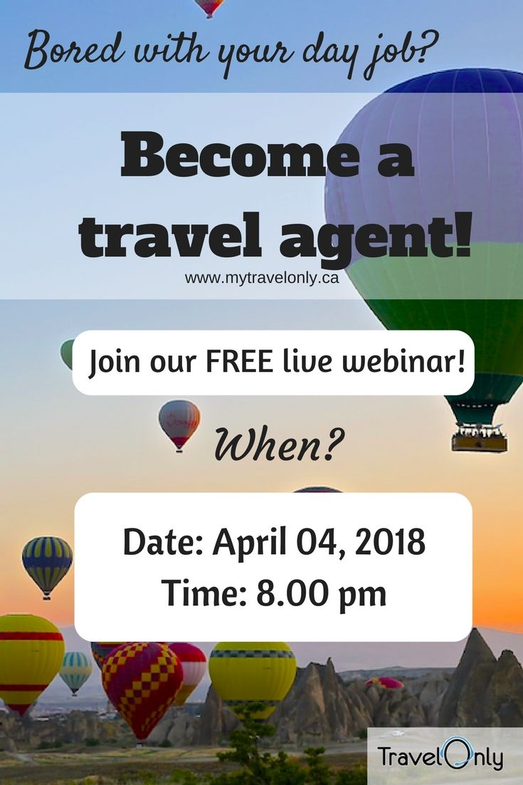 For all Canadians: become a home-based travel agent! How to Make ...