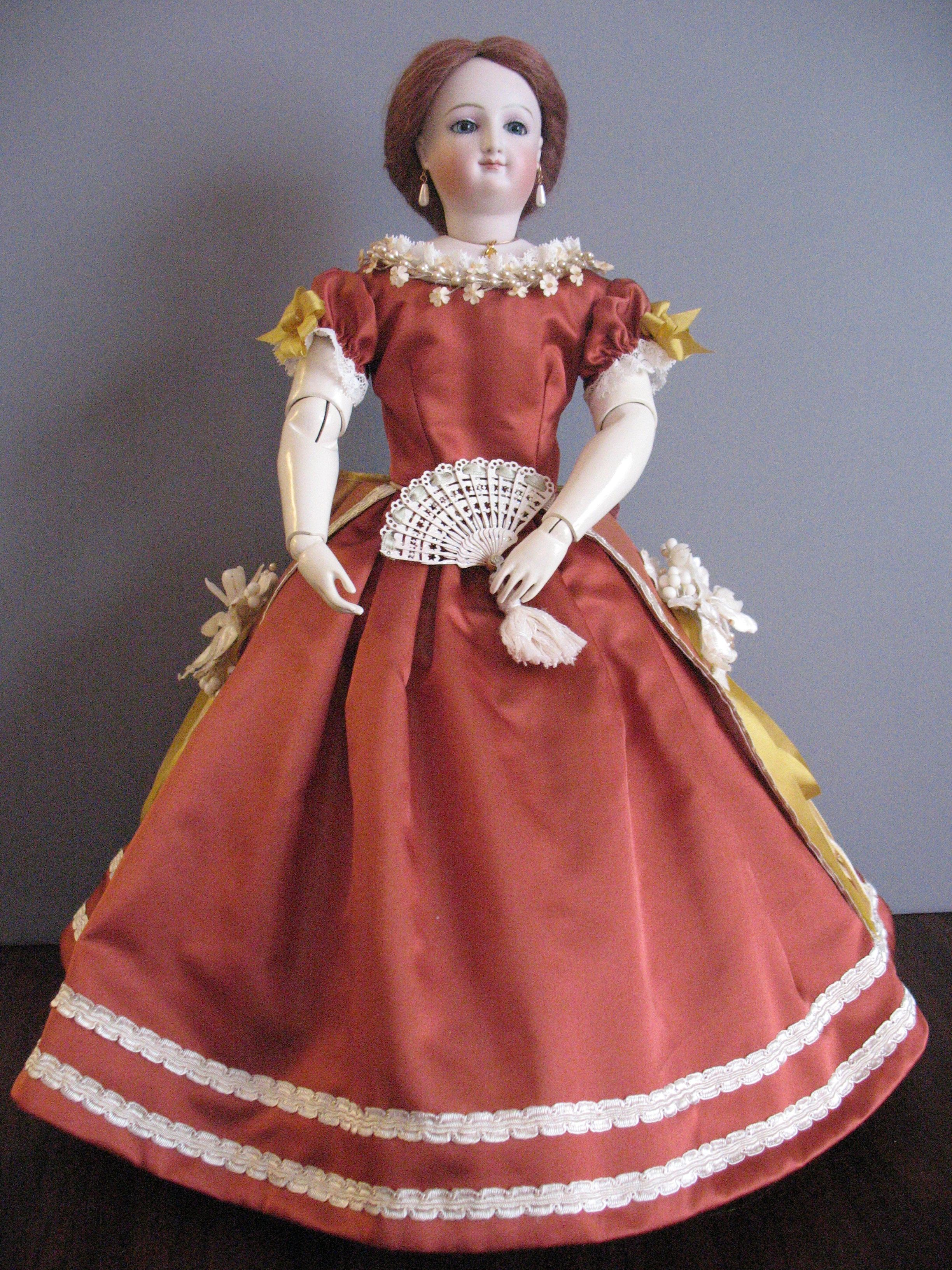 This is an 1860\'s ball gown made for my 16\