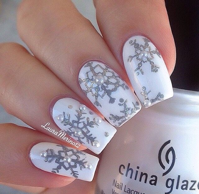 Gorgeous Fall And Winter Nail Designs How To Make A Snowflake