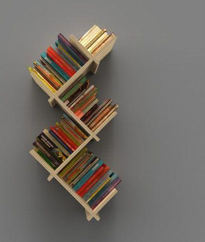 Librero moderno y econ mico estudio pinterest for Libreros modernos