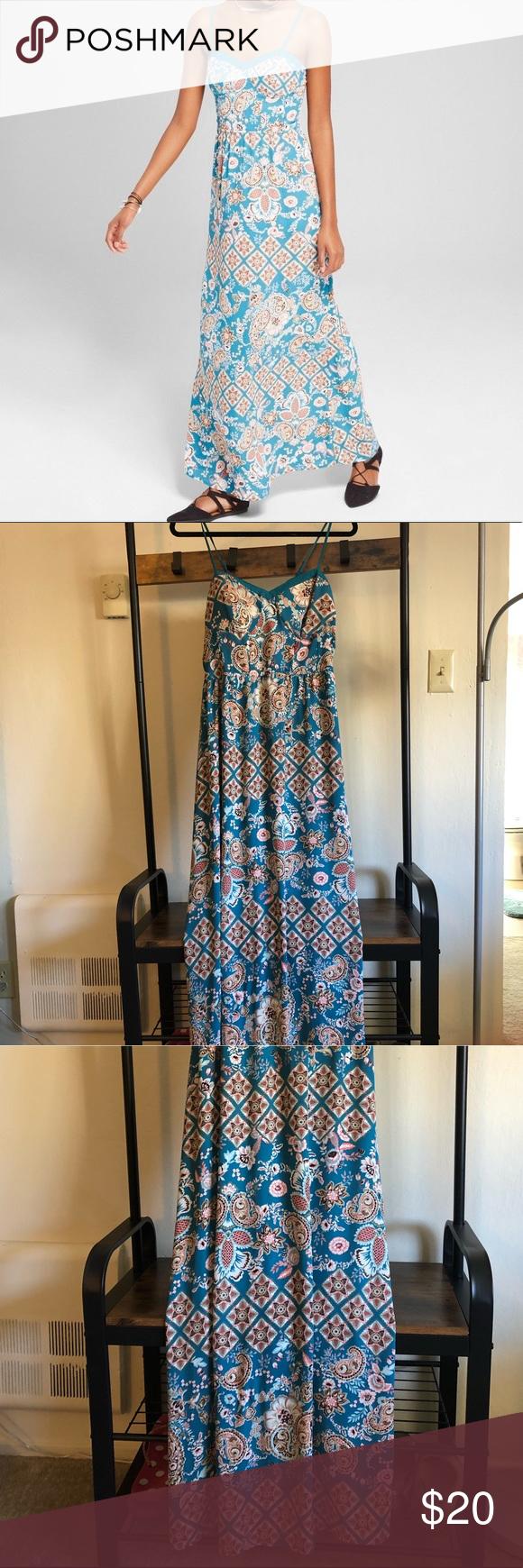 Xhilaration Maxi Dress Maxi Dress Xhilaration Maxi [ 1740 x 580 Pixel ]