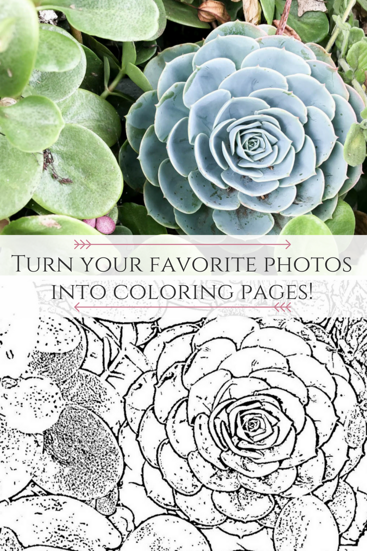 How to Create Your Own Adult Coloring Pages | Diy art, Photo ...