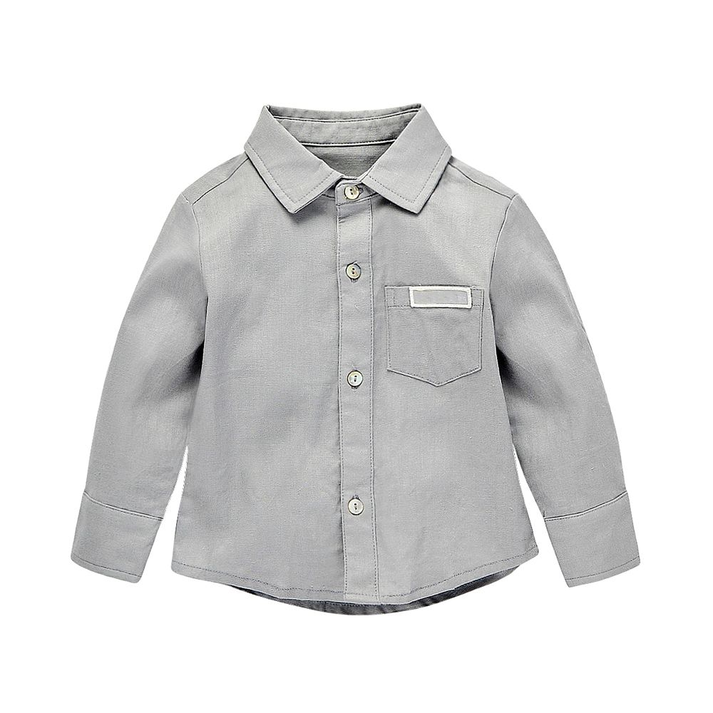 Fashion Baby Boy Long Sleeve Polo Shirts Wholesale Manufacturer From