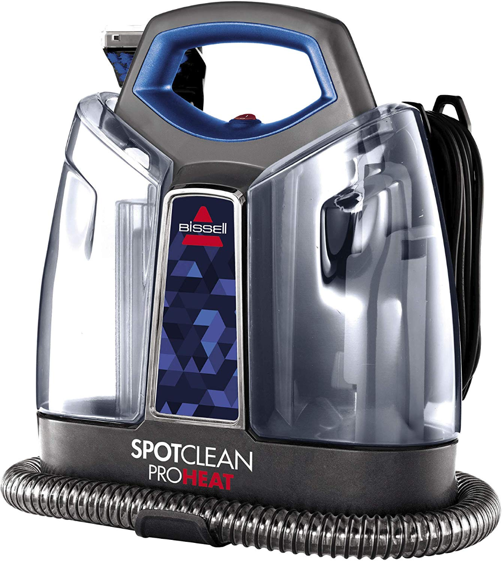 Bissell Spotclean Proheat Portable Spot And Stain Carpet Cleaner 2694 Blue Walmart Com In 2020 Carpet Cleaners Stain Remover Carpet Bissell Carpet Cleaner