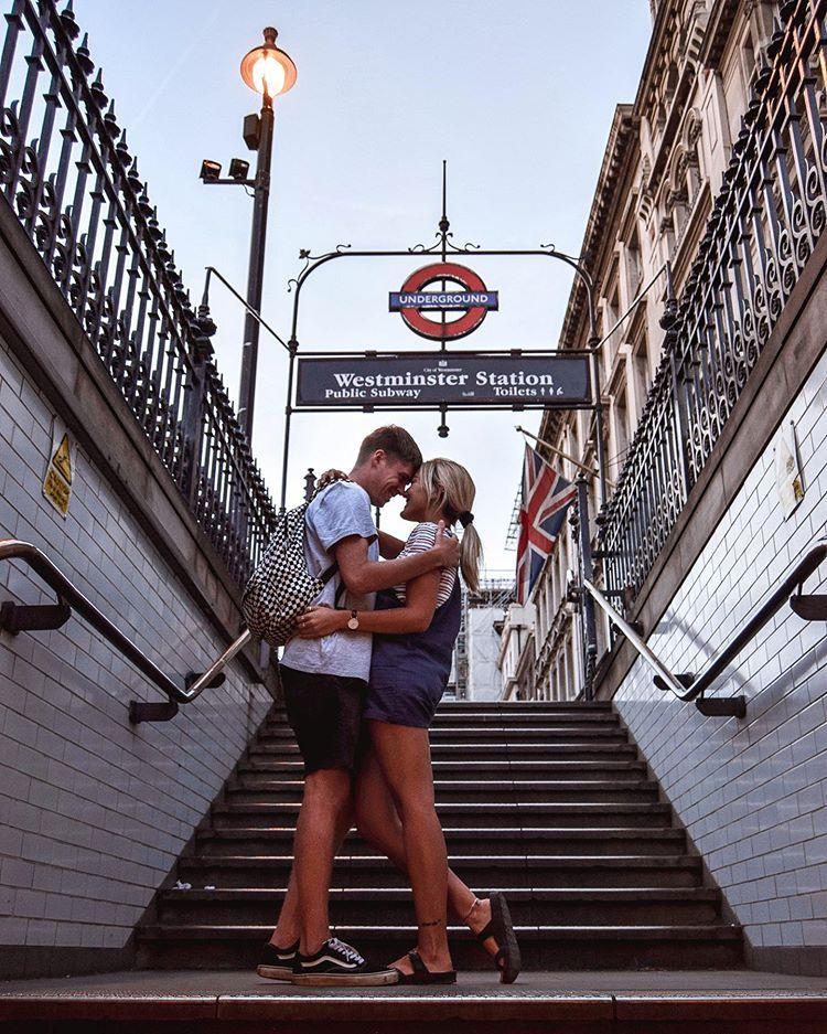 Westminster Station London England United Kingdom Instagram Spots