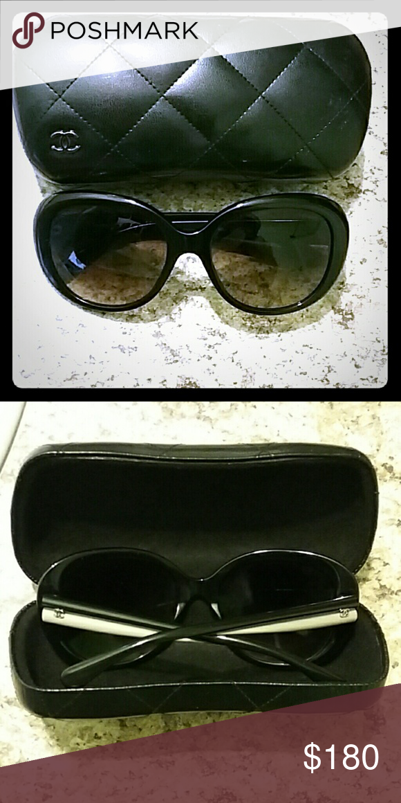 Selling this CHANEL Sunglasses on Poshmark! My username is: christianajp. #shopmycloset #poshmark #fashion #shopping #style #forsale #CHANEL #Accessories