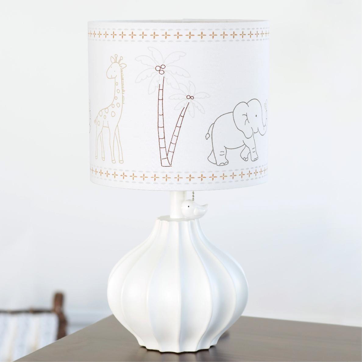 Just Born Animal Kingdom Nursery Lamp Nursery Lamp Lamp Nursery