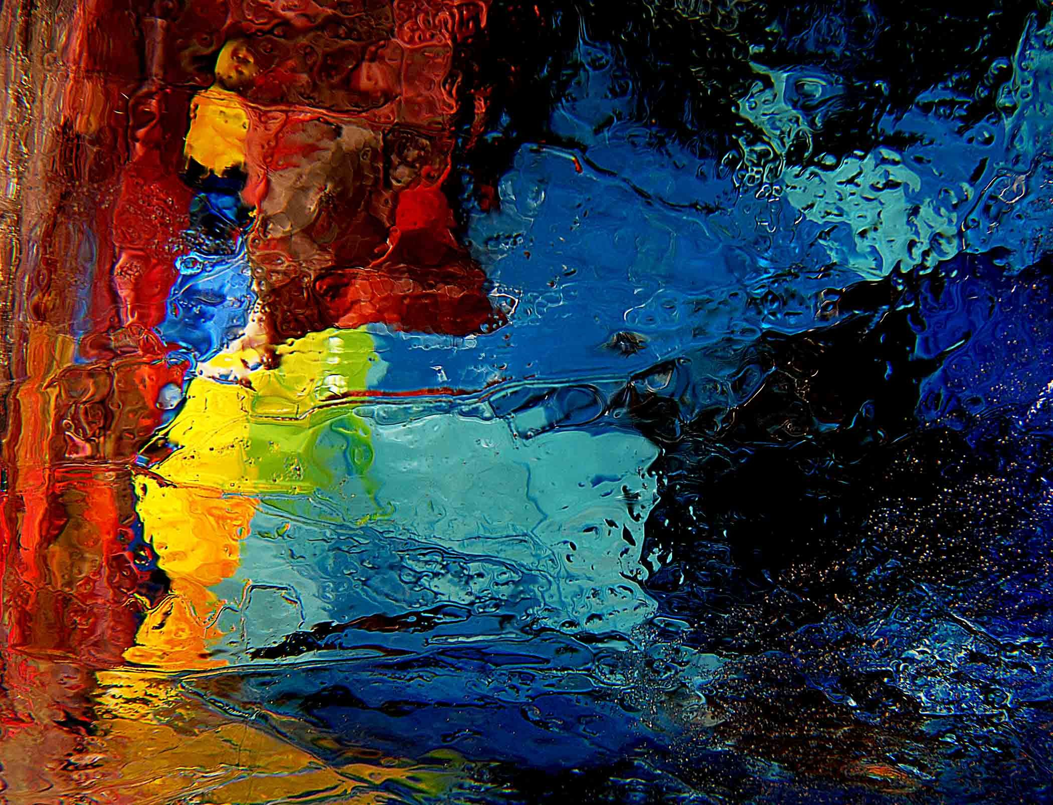 Abstract Water Painting Colors Samsung Galaxy S5 Hd: Http://www.jeffrennicke.com/photography/ I Was Drawn To