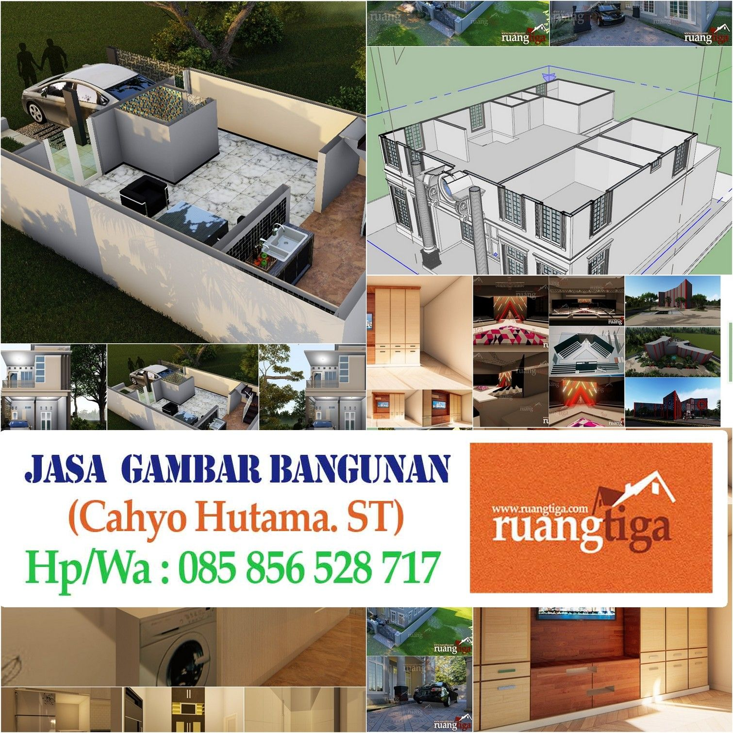 085856528717 Jasa Gambar Autocad Tangerang Jasa Pembuatan Desain Perumahan Jasa Desain Rumah M Rumah Desain Rumah Autocad