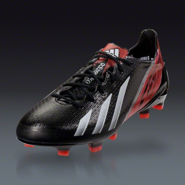 1291f2812cc6 adidas F50 adizero TRX FG-synthetic - miCoach compatible - Black Running  White Infrared Firm Ground Soccer Shoes