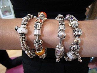 Full pandora bracelet | Pandora bracelet charms, Pandora bracelets ...