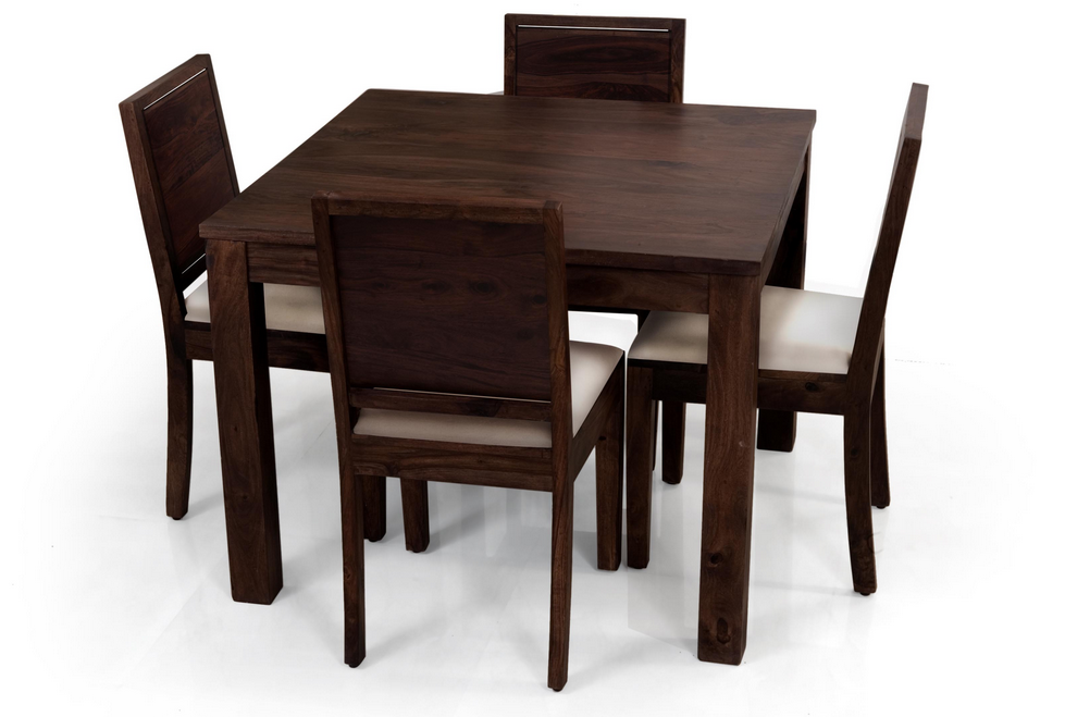 Small Dining Room Table And Chairs The Design Is Very Attractive Simple Not Too Big Size So Square Dining Tables Small Dining Room Table Kitchen Table Settings