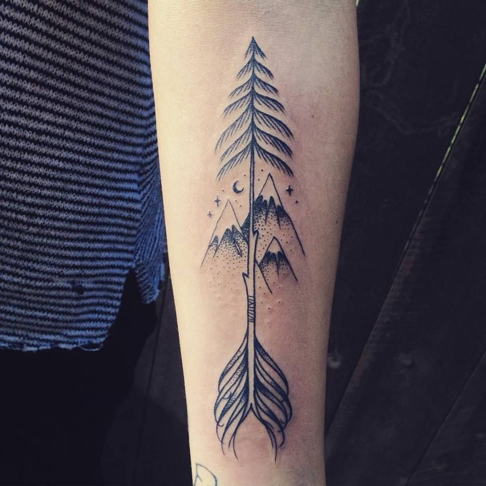 Pin On Nature Meets Body Simple arrow tattoo design on arm. pin on nature meets body