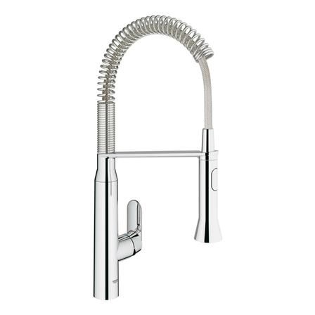 GROHE K7 Kitchen Tap with Extractable Professional Spray Arm | Happy ...