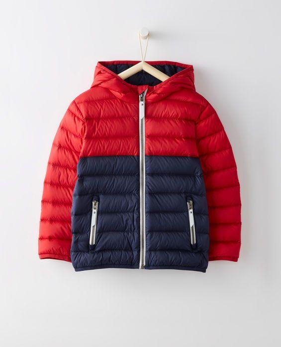 c1fce8227 Superlight Down Jacket in Navy/Hanna Red - main | Boys | Winter ...