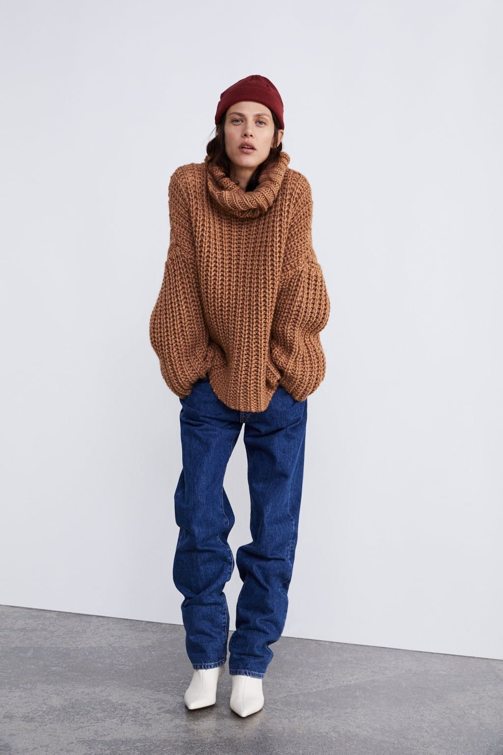 design innovativo eaf8e 6a5b4 Image 1 of OVERSIZED SWEATER from Zara | Threads in 2019 ...