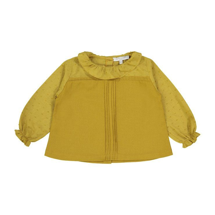 Suzon Top, Curry | Baby Style | Cute outfits for kids ...