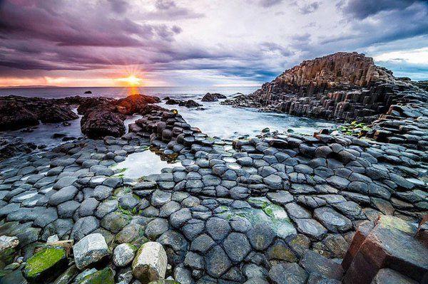 La Chaussée des Géants, Irlande du Nord !