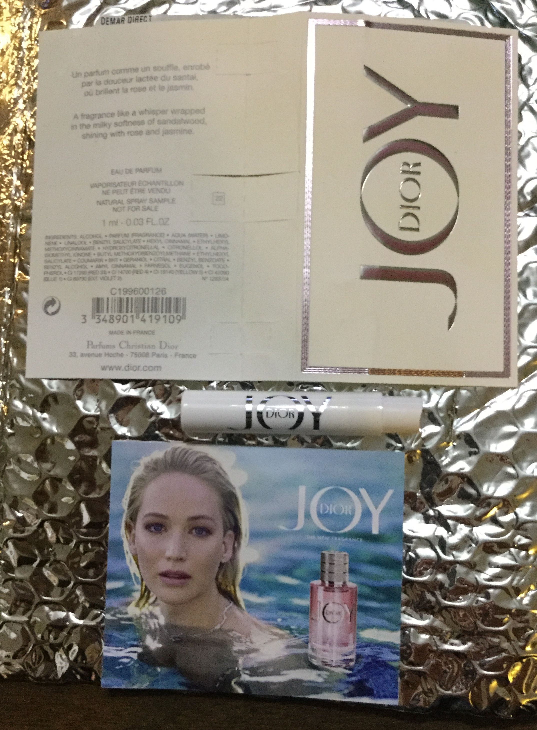 Free Joy By Dior Fragrance Sample Freestuff Freebies Samples