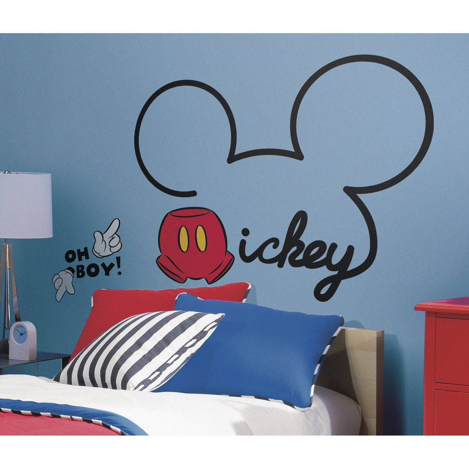 Mickey Mouse Ears Wall Decal