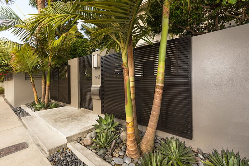 modern tropical landscape design