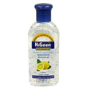 Higeen Hand Sanitizer Gel Lemon 50ml 1 7 Fl Oz