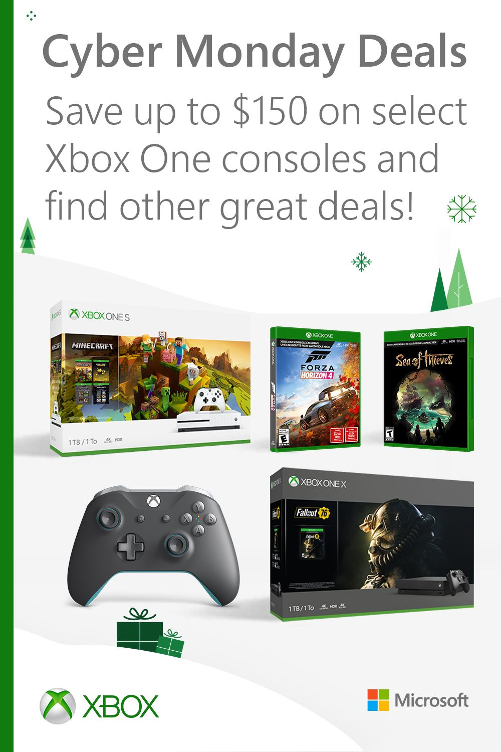 Save Up To 150 On Select Xbox One Consoles And Other Great Deals Xbox One Xbox One Console Xbox