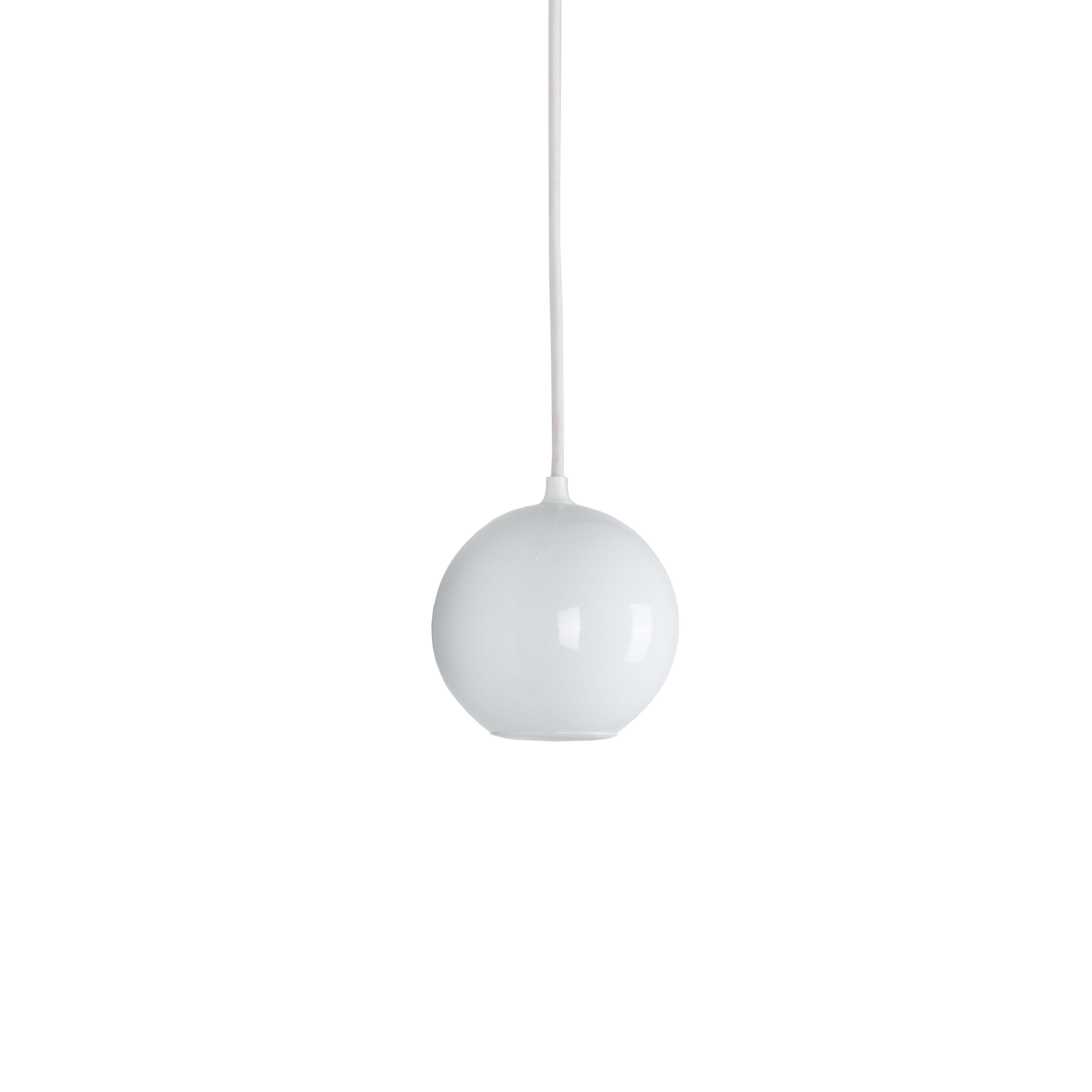 Suspension Boule blanc ˜12cm innermost