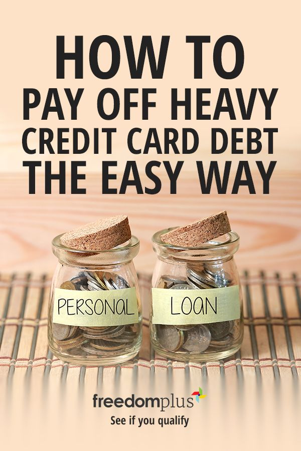 Pay Off Your Credit Card Debt With A Personal Loan You Could Save Thousands On Your Interest With Lower Fixed Mont Credit Cards Debt Personal Loans Budgeting