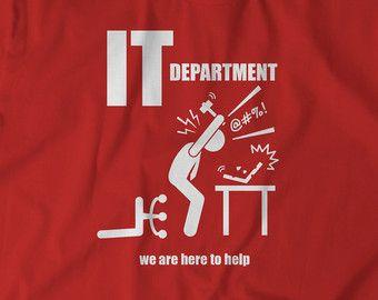 5a77f734 Funny Tees Computer t Shirt IT Department Help Tshirt Computer Science Geek  Nerd T-Shirt
