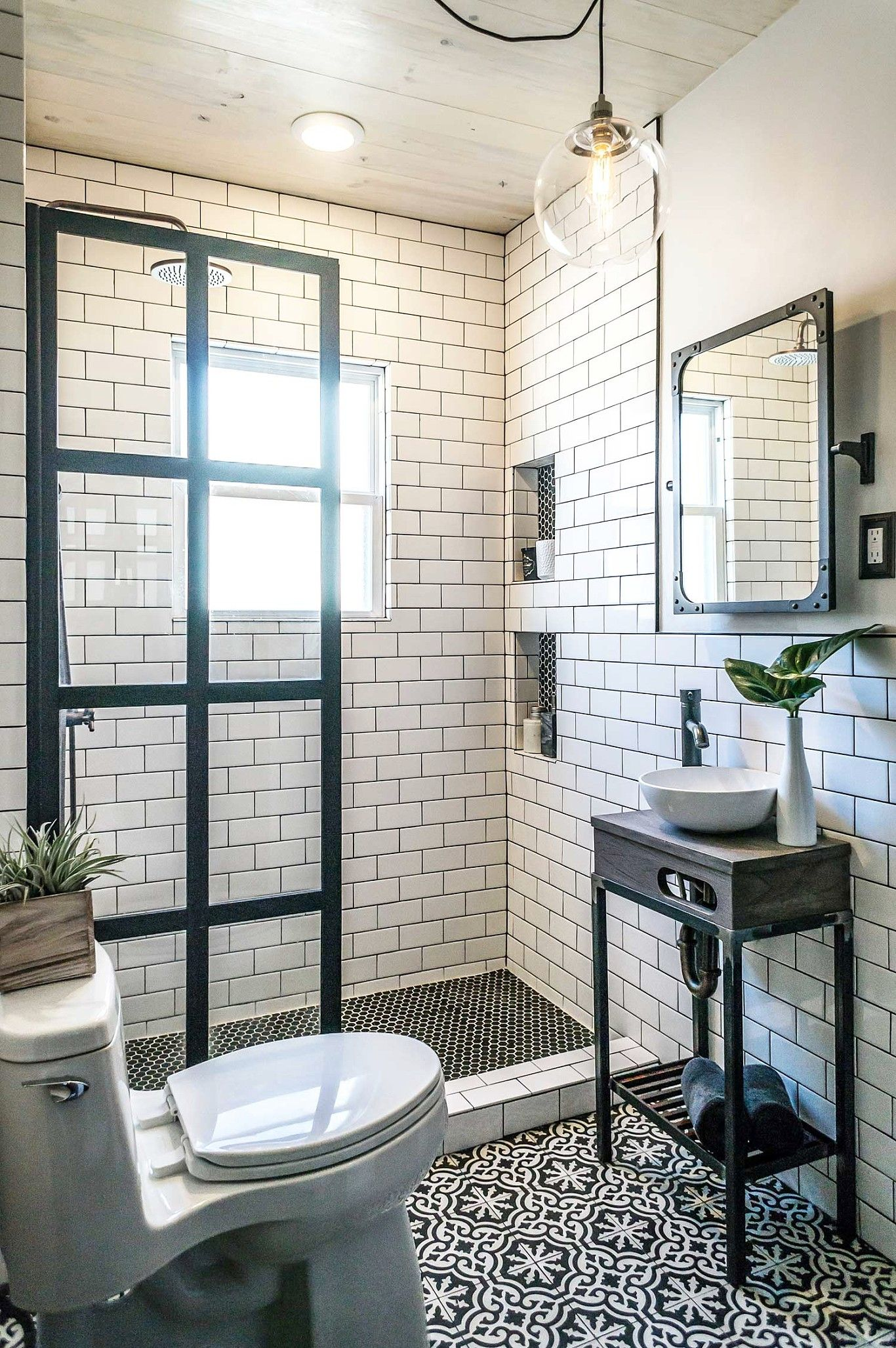 Image Result For 5x7 Bathroom Small Bathroom Remodel Tiny House