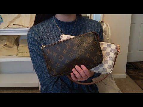80e3c6bf1597 Louis Vuitton Pochette Accessoires Old Model Vs. NM