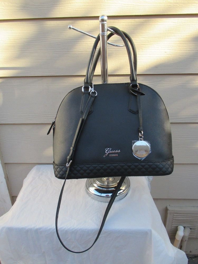 Guess Color Black Style JJ604506 Group  Emueshe Bag Handbag Purse Brand New e74a0f6ff1093