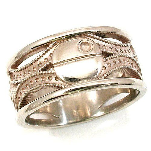 indeed the mens unique wedding bands made by titanium have a high detail and description - Unusual Mens Wedding Rings