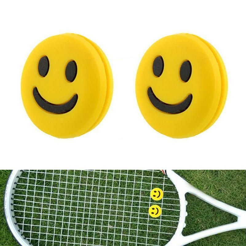 Vibration Dampener Absorber Smile Face Shock For Tennis Racket Sporting Good New Unbranded Fun Sports Tennis Tennis Racquet