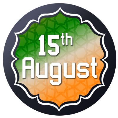 India Flag Mandala Design Logo Vector, Independence Day