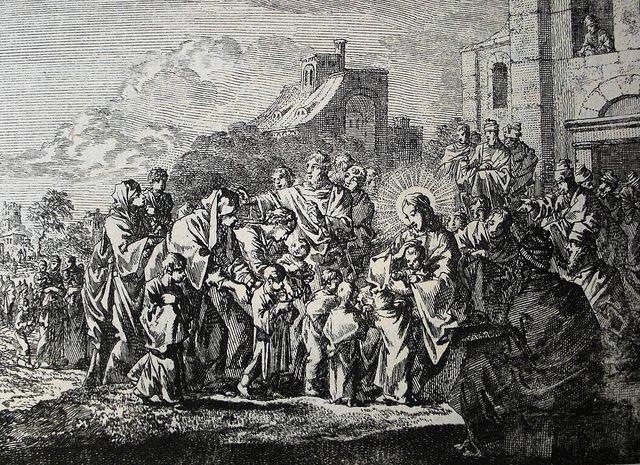 Jan Luyken's Gospel 63. On Children (2). Phillip Medhurst Collection on Flickr.Jan Luyken's Gospel 63. On Children (2). Phillip Medhurst Collection