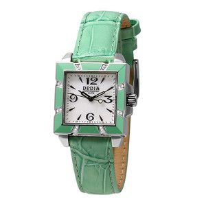 Armbanduhr Lily LQ Grün-Weiß, 350€, jetzt auf Fab.