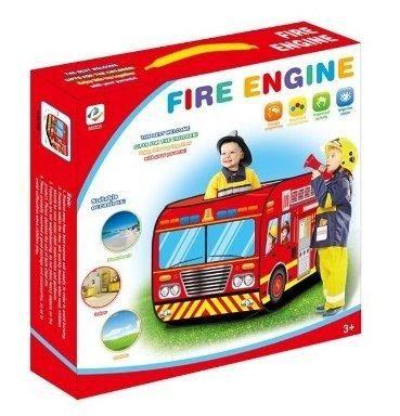 Fire Truck Kids Play Tent Kids Room Decor Playhouse Indoor Outdoor Pop Up Play