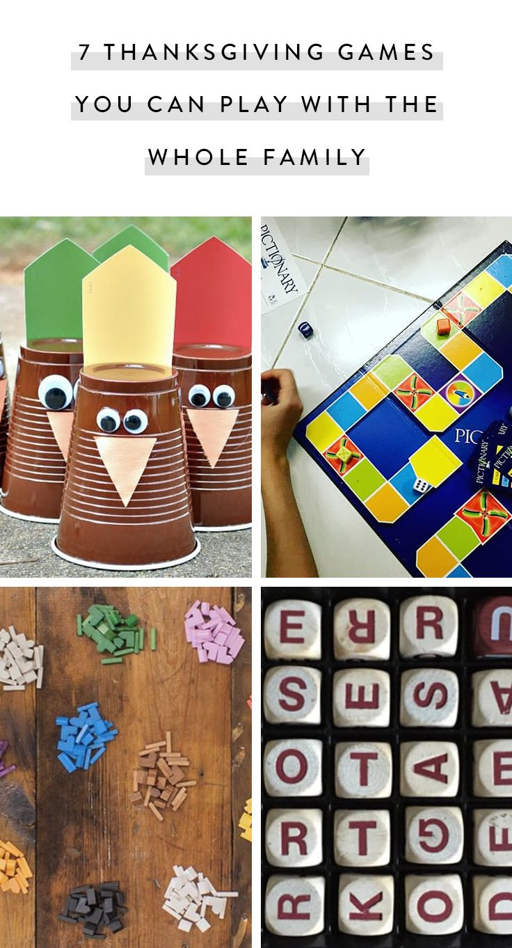 7 Thanksgiving Games You Can Play with the Whole Family