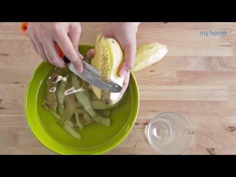 myhome ทำได้ ตอน ล้างแก้วให้ใสปิ๊งด้วยมันฝรั่งและแม่เหล็ก - YouTube